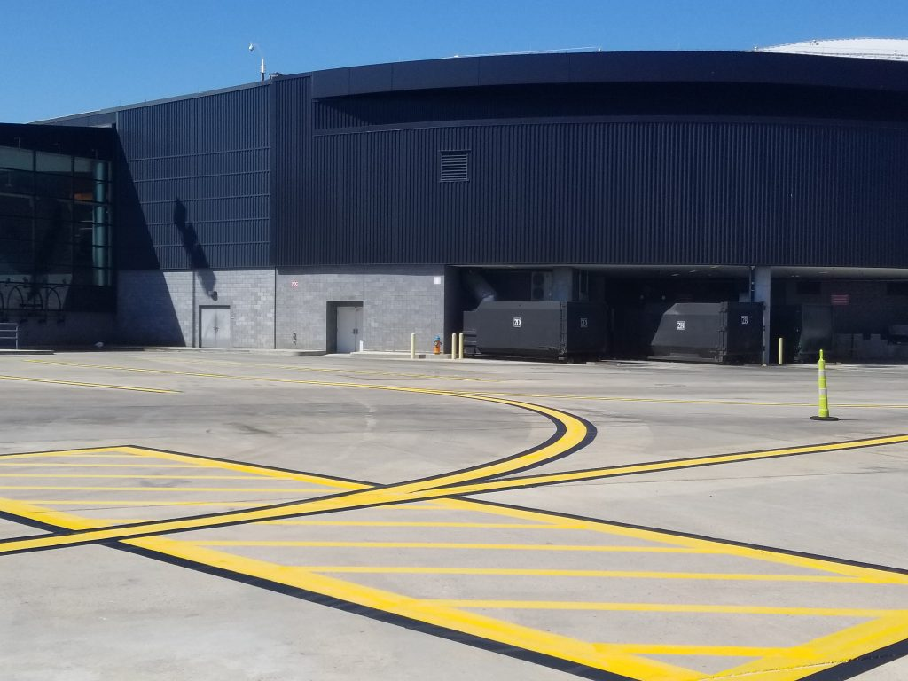 Just Seal It Completes the line painting of BWI Airport