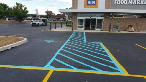 ADA Compliance line painting made easy