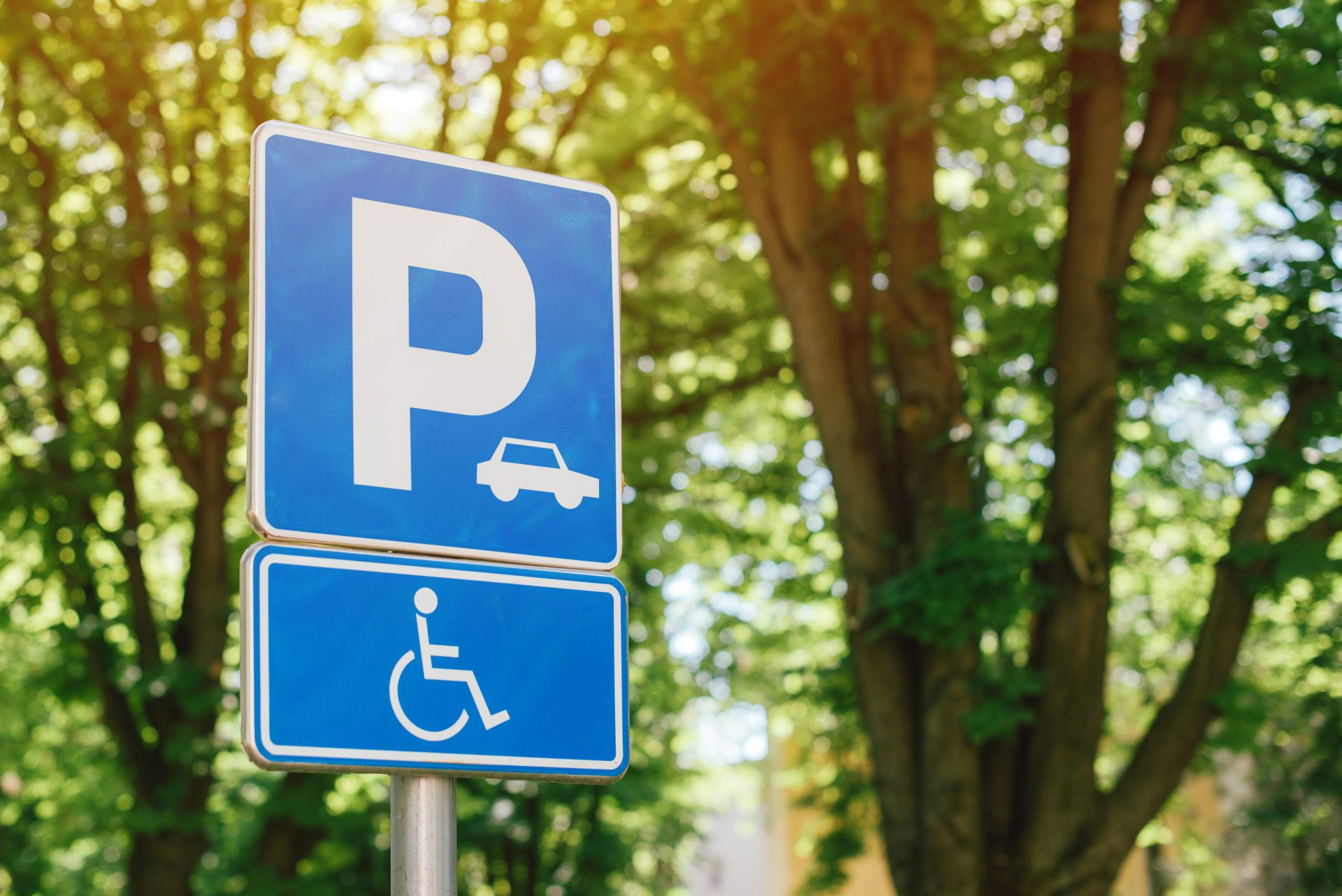 Parking Lot Signs from Just Seal It LLC
